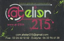 Atelier 215, solution globale en communication